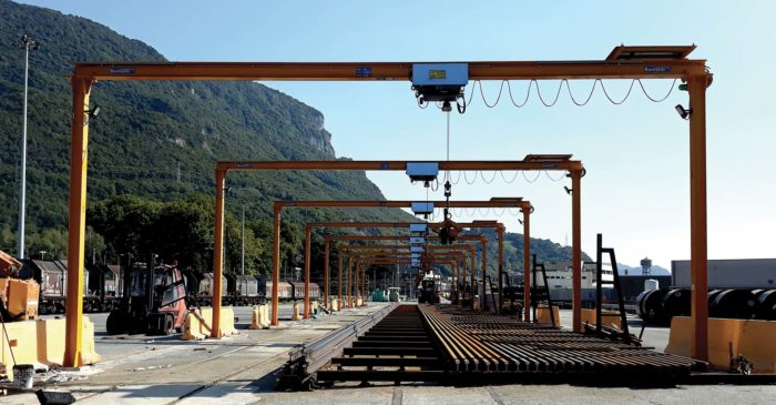 New logistics platform for the load, unloading and storage Brambilla Scalo