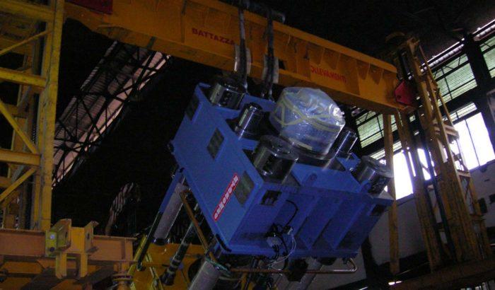 sollevamenti e montaggi industriali di grandi dimensioni