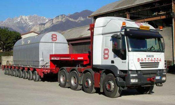 trasporti industriali nazionali e internazionali