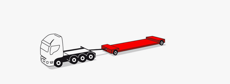 2 axle trailers up to 30 tons