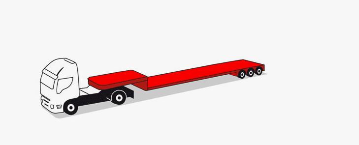 3-axle semitrailers 40 tons